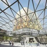 Bericht vom Baustellenbesuch der neuen ADAC-Zentrale